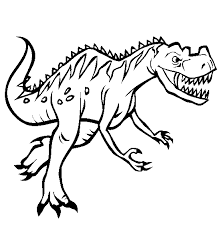 Good Printable Dinosaur Coloring Pages 76 For Gallery Ideas With