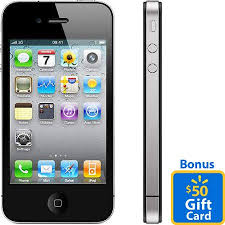 Buy Apple iPhone 4 16GB and receive a Bonus $50 Gift Card with