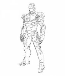 Fresh Iron Man Coloring Page 36 With Additional Picture