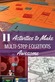 Online Virtual Algebra Tiles by 11 Activities To Make Practicing Multi Step Equations Awesome