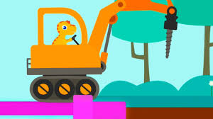 Dinosaur Digger 3 - Truck Kids Game - Dinosaur Digger App For ...