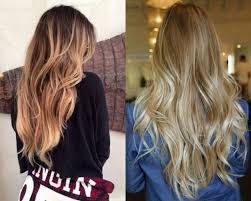 Flamboyage Hair Color Trends 2017 Summer