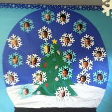 Kindergarten Winter Door Decorations by Best 25 December Bulletin Boards Ideas On Pinterest Christmas