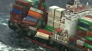 100 Shipping Container Shipping Dozens Of Containers Fall Off Cargo Ship