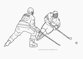 Penguins Nhl Pumpkin Stencil by Hockey Coloring Pages