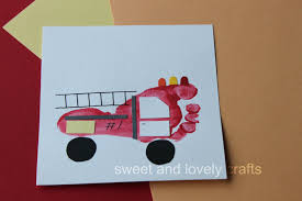 Sweet And Lovely Crafts: Footprint Fire Trucks Blaze Fire Truck Tissue Box Craft Nickelodeon Parents Crafts For Boys A Firetruck Out Of An Egg Carton The Oster Trucks Truck Craft And Crafts Footprints By D4 Handprints Oh My 1943 Fordamerican Lafrance National Wwii Museum Vehicle Kit Kids Birthday Party Favor Mrs Jacksons Class Website Blog Safety Week October 713 Articles With Engine Bed Sheets Tag Fire Engine Bed Tube Toys Toy Packaging Design Childrens Tractor Jennuine Rook No 17 Vintage Cake Project