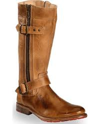 bed stu women s tan gogo lug strap boots round toe boot barn