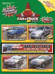 NM Car And Truck Magazine Issue 41 By NM Car And Truck Magazine ... Nm Car And Truck Magazine Issue 44 By Greyhound Bus Semitruck Crash Headon In New Mexico At Least 7 Enterprise Sales Used Cars Trucks Suvs For Sale Certified Larry H Miller Chrysler Jeep Dodge Ram Alburque In 41 Melloy Auto Group Vehicles For Los Lunas Hicountry Chevrolet A Shiprock Farmington Durango Co Dealership Las Cruces Bravo Vol 9 14 St Clair Winery Mesilla Wine Pinterest Patrol Division Portales