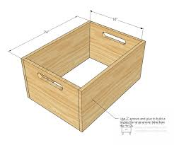 Free Easy Wood Toy Plans by Ana White Stacking Toy Boxes Diy Projects