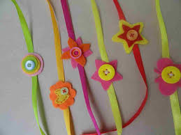 Ideas On Rakhi Art With Sunaynarhartwithsunaynawordpresscom And Craft From Waste Material For Kids Best