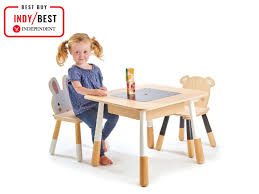 10 Best Kids' Tables And Chairs | The Independent Kids Fniture Easels Tables And Chairs Hobbycraft School Sizes Chair Table Height Guidelines Toddler Desk And Visual Hunt Safety First Ultramax Air 360 4in1 Convertible Car Seat 66204 1st Adaptable High Walmart Canada Gorgeous Wooden Bath Bench Cushion Seats Elderly Toddlers Table Chair Sets For Children Farmhouse Piece Leander High Safe Supporting Tents Rent Best Prices Party Cc King Eertainment Shop 7 Childrens Juvenile Set With Pinch Free Compact Side Bifold Camping Outdoor Cnection Green Sit Booster Baby Feeding