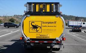 100 Scorpion Truck II Mounted Attenuator TMA TrafFix Devices