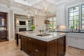 kitchens stunning kitchen with wood kitchen island