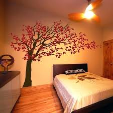 Bedroom Wall Paintings Fabulous Cherry Blossoms Girls Design Awesome Cool