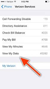 GUIDE] How to check your Verizon Data Usage without an App or