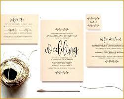 Unique Diy Wedding Invitation Kit For