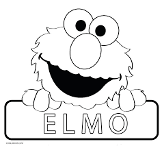 Baby Elmo Coloring Pages Full Size Of Free Printable Large Decorative Halloween