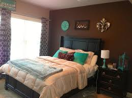 Love Color Scheme Browns And Teal Bedroom