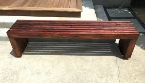 modern wooden bench design contemporary outdoor bench design