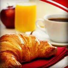 Croissant Orange Juice And Coffee