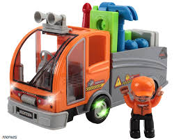Buy Memtes® Truck Tools Toy With Action Figure, Various Tools With ...