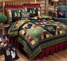 Timberline Lodge Deluxe Bedding Set Quilt Christmas