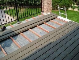 flat roof deck tiles home design ideas