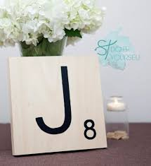Scrabble Tile Point Distribution by How To Make Giant Scrabble Tile Table Numbers