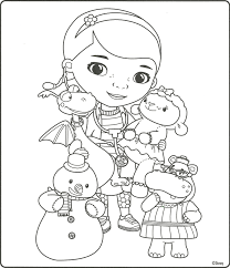 Doc Mcstuffins Coloring Pages Popular