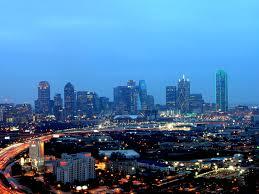 dallas Skyline Dallas TX USA city lights city wallpaper