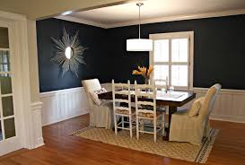 Navy Blue Dining Rooms For Modern Room Wainscoting