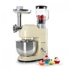 mixeur de cuisine lucia morena de cuisine pétrin mixeur hachoir 1200w 5l crème