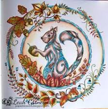 Leah Cornelius Enchanted Forest FC Polychromos Lyra Polycolor Adult Coloring Books