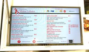 100 Cousins Maine Lobster Truck Menu Food Images And Fish