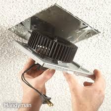 Nutone Bathroom Exhaust Fan 8814r by Fix A Noisy Bathroom Fan Family Handyman