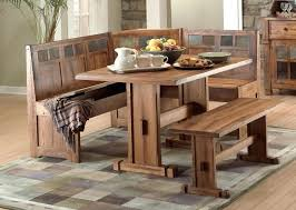 Booth Style Dining Tables Corner Sets Small Bench Table Kitchen
