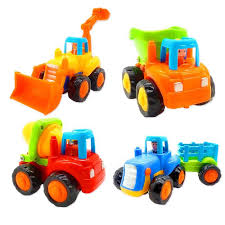 100 Trucks Cartoon Amazoncom Friction Powered Cars Push And Go Toy