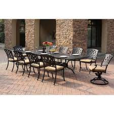 Patio Furniture With Hidden Ottoman by Black Patio Furniture Outdoor Seating U0026 Dining For Less