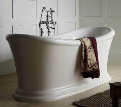 casa padrino luxus jugendstil acryl badewanne weiß 170 x 74 x h 70 cm gebogene freistehende retro antik badewanne barock jugendstil badezimmer