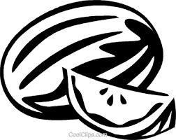 Watermelon clipart logo 15
