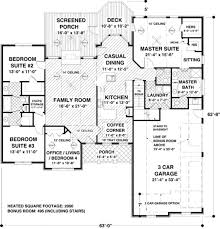 Craftsman Style House Plans Ranch by 505 Best House Plans Images On Pinterest House Floor Plans