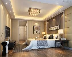 Modern Master Bedroom Ceiling Design Ideas With Wooden Floor Decorations