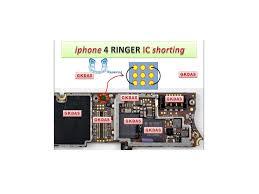 to Jumper iPhone 4 Ringer Problem solution