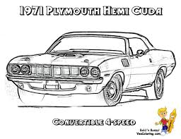 Coloring Pages Classic Cars Free