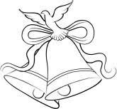 Wedding Bells Free Clipart 1