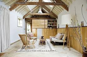 Tranquil Living Room With Warm Reclaimed Wood Wall Design Retrouvius Ryland Peters Small