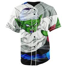 Dragon Ball Z Fish Tank Decorations by Piccolo Dragon Ball Z Button Up Baseball Jersey U2013 Jakkou U2020 U2020hebxx