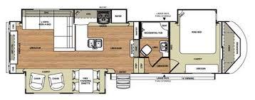 Wildwood Fifth Wheel Floor Plans Colors Used 2015 Forest River Rv Wildwood Heritage Glen 327re Fifth Wheel