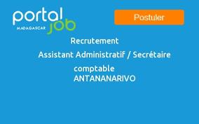 emploi recrutement assistant administratif secrétaire
