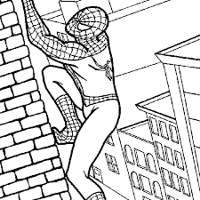 Spiderman Coloring Pages Inside Color
